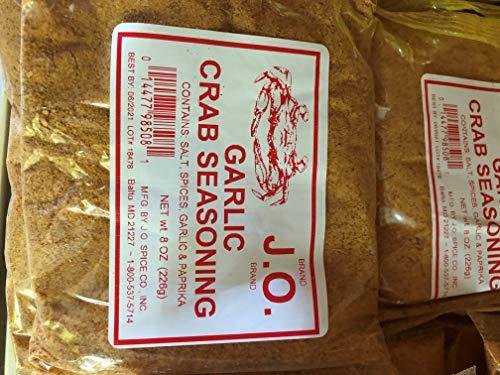 J.O. Garlic Crab Seasoning J O Maryland 8oz USA