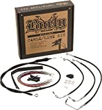 Burly Brand Cable and Brake Line Kit for 12'' Ape Hangers B30-1006