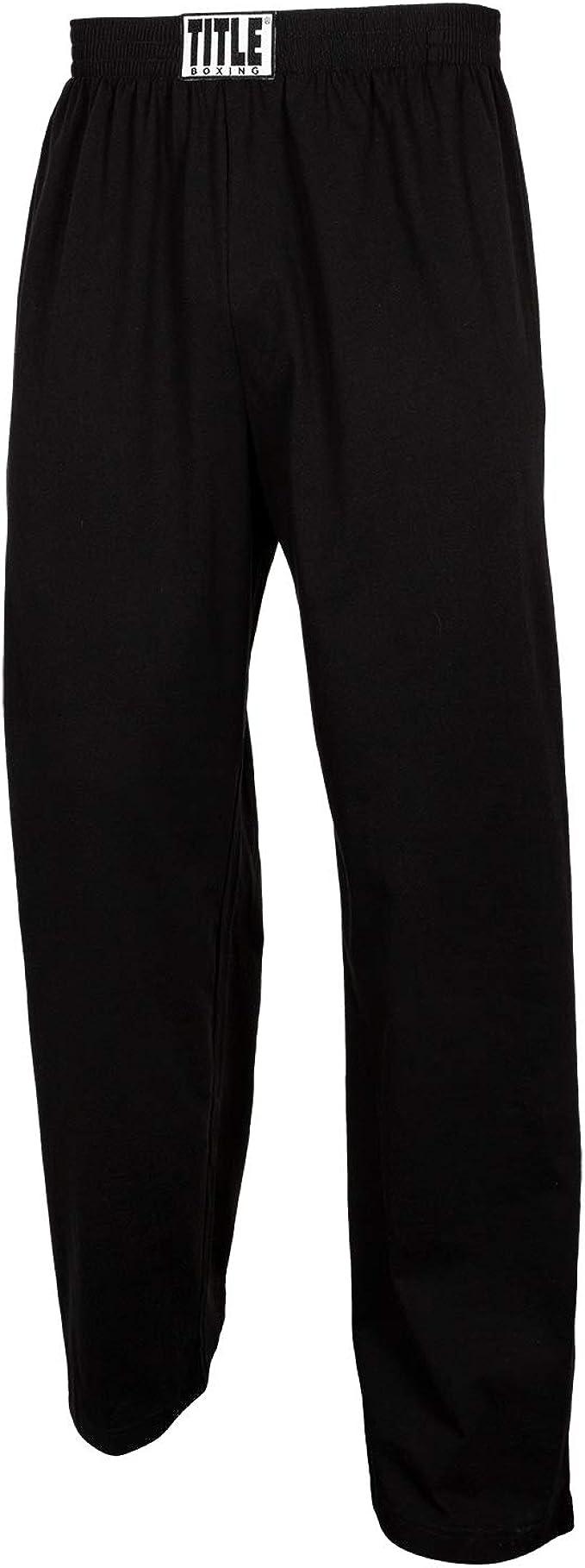 Title Boxing Cotton Jersey Pants