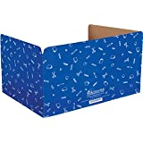 Really Good Stuff Jr. Privacy Shields for Student's Desks – Keeps Their Eyes on Their Own Test/Assignments (Matte (12 Shields), Blue)