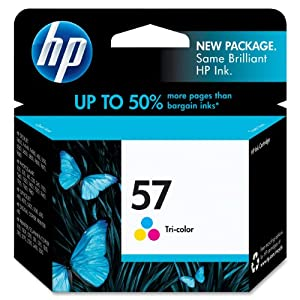 HP 57 Tri-color Original Ink Cartridge (C6657AN) from Hewlett Packard SOHO Consumables