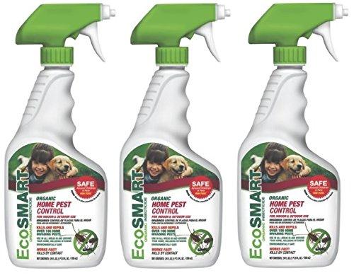 EcoSmart 33507-01Organic Home Pest Control, 24-Ounce (3) by EcoSmart