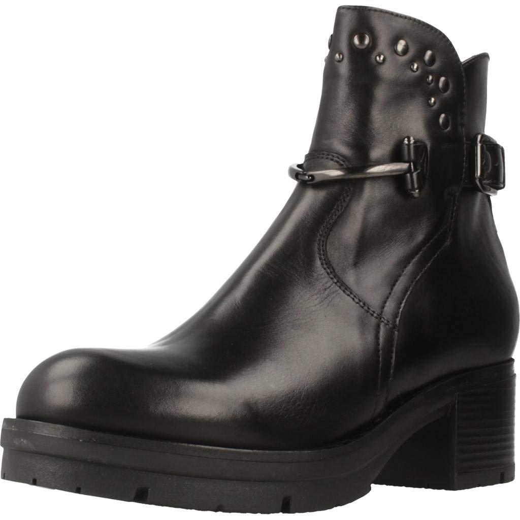 Schwarz Giardini Stiefelleten Stiefel Damen, Farbe Schwarz, Marke, Modell Stiefelleten Stiefel Damen A807134D Schwarz