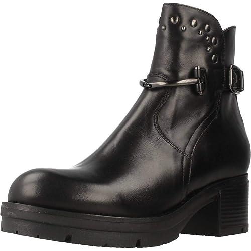 1fcefbaccd0 Botas para Mujer, Color Negro, Marca NERO GIARDINI, Modelo Botas para Mujer  NERO GIARDINI A807134D Negro: Amazon.es: Zapatos y complementos