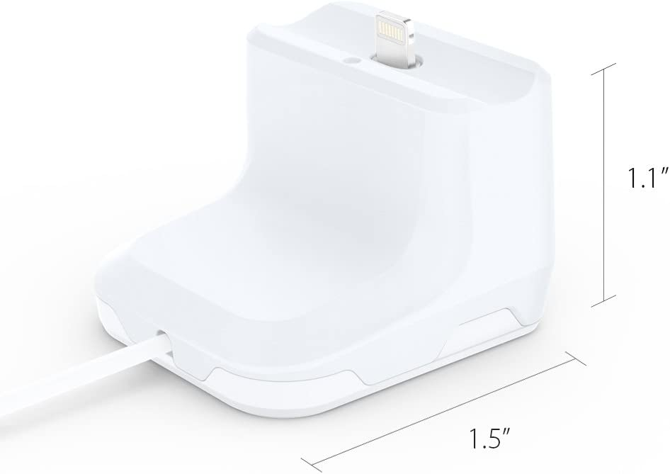 Compatible with Original Apple Cable ONLY Spigen S313 Designed for Airpods Stand Charging Dock for Airpods 1 /& 2 NOT Compatible with Silicone Cases