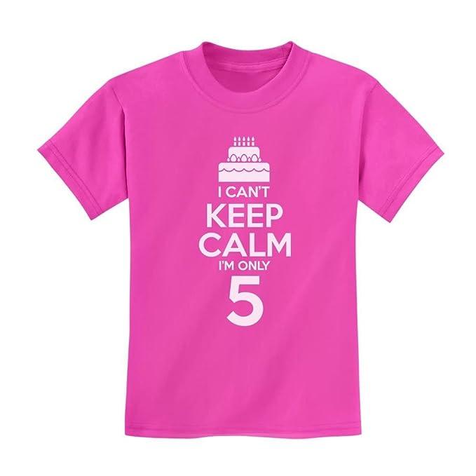 bc4397b98 Amazon.com: Loo Show Birthday Cake - I Can't Keep Calm I'm 5 Funny ...
