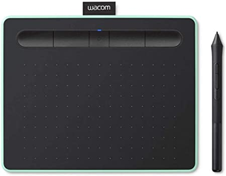 Oferta amazon: Wacom Intuos M - Tableta Gráfica Bluetooth para pintar, dibujar y editar photos con 3 softwares creativos incluidos para descargar, Windows & Mac, óptima para oficina en casa y e-learning, pistacho