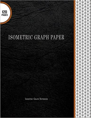 Isometric Graph Paper Isometric Graph Notebook 120 Pages 8 5 X