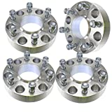 (4) Chevy 1.50'' ( 38mm ) Hubcentric 6x139.7 Wheel Spacers Fits Silverado Tahoe Avalanche Suburban