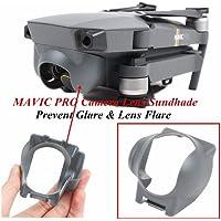 XSD MODEL 10pcs Mavic Lens Hood Sunshade Lens Cover Gimbal Protector For DJI Mavic pro (Grey)