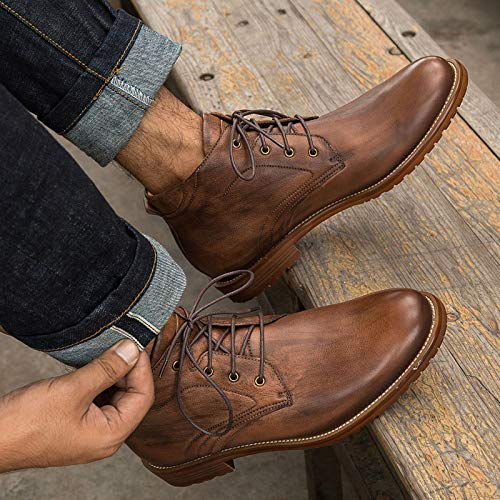 Grande Go D'homme Brown Taille Style Bottes Ville Brown color Size Shopping 41 De Chaussures eu Vintage Cricket Easy wUqAXHX