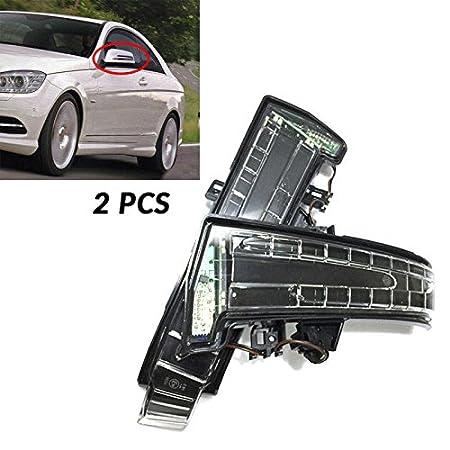FidgetGear - Luz LED para Espejo Lateral de Mercedes W204 ...