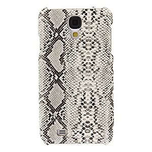 Sound Hung Series High-End Snakeskin Grain Hard Case for Samsung Galaxy S4 I9500(Assorted Colors) --- COLOR:Dark Gray