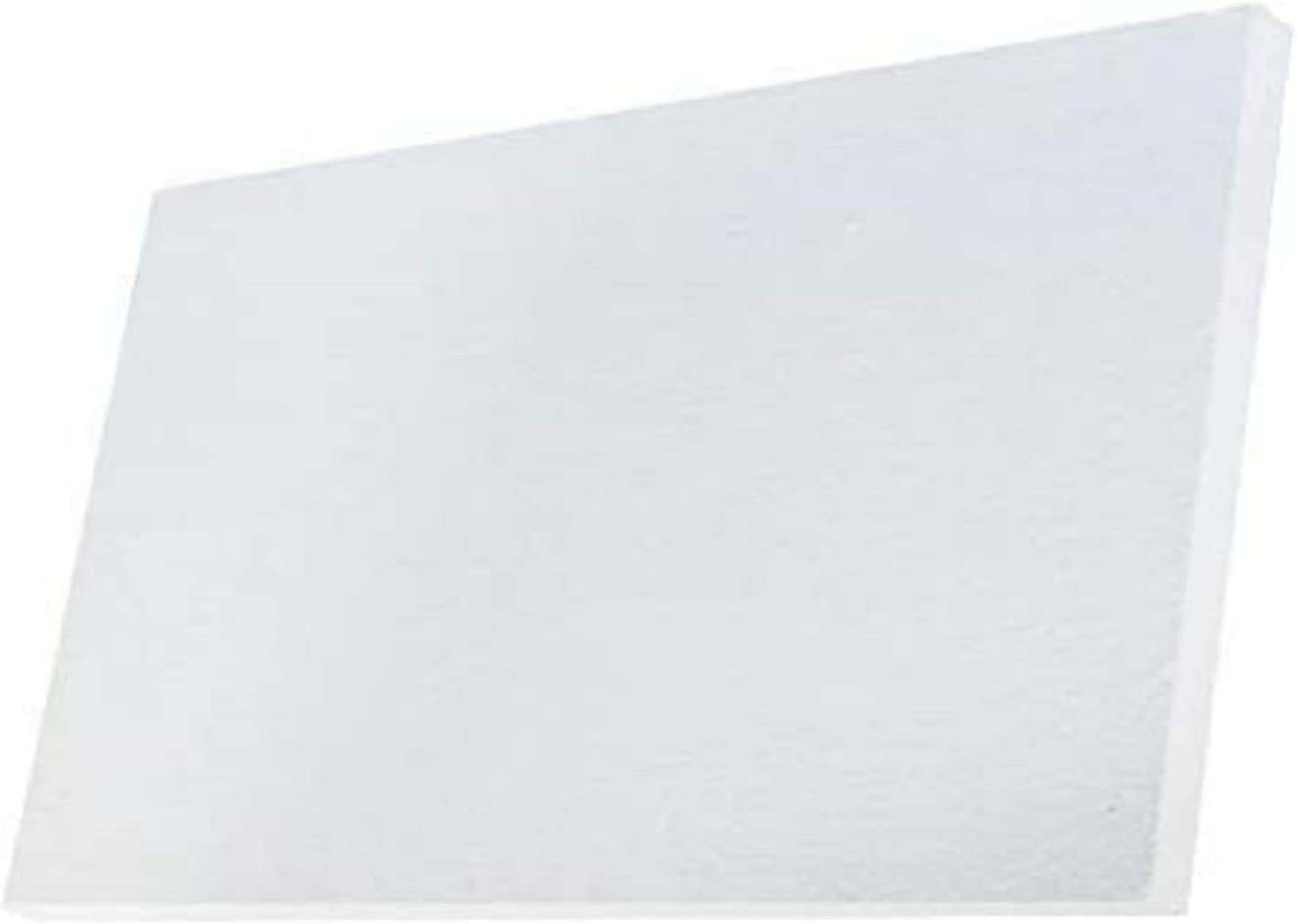 Simond Store Ceramic Fiber Insulation Board, 2300F, 0.47 Inch X 18 Inch X 24 Inch, Ceramic Thermal Insulation Board for Wood Stoves Fireplaces Furnaces Forges Kiln Pizza Oven