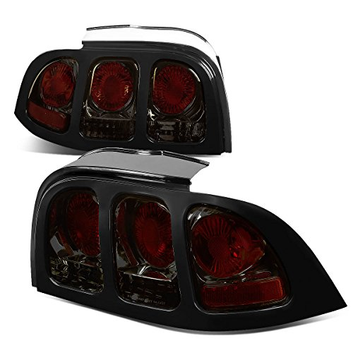 Ford Mustang SN95 Pair of Smoked Lens Altezza Tail Brake Lights Smoked Tail Lights Mustang