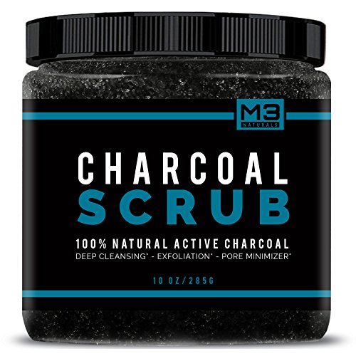 Activated Charcoal Face Scrub - 4