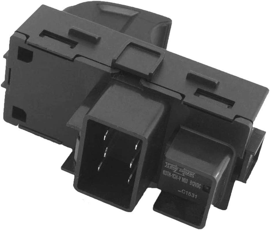 Driver Side Master Power Window Switch Compatible with 2007-2013 Chevy Silverado 2500 HD 3500 HD 2009-2015 Chevy Traverse 2007-2013 GMC Yukon XL 1500 2500