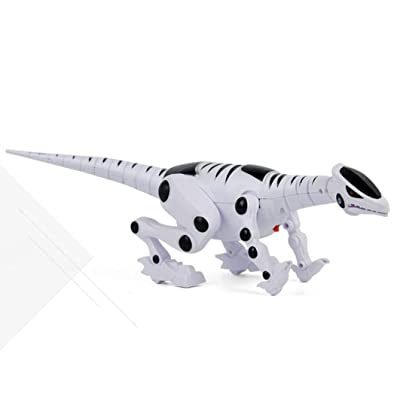 Interactive Toys for Boys Girls,Dressin Intelligent Smart Remote Control Dinosaur Robot Toys with Sound Light Electronic RC Robot Learning Toys Novelty Gift for Children (As show): Arts, Crafts & Sewing