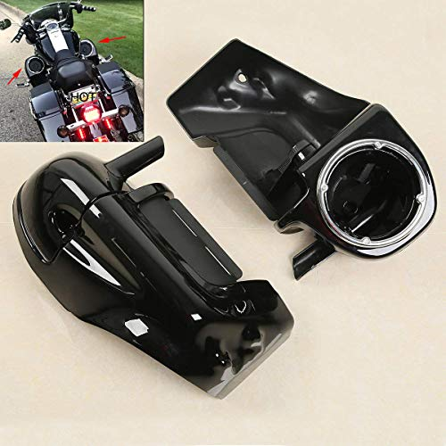 - XFMT Lower Vented Leg Fairings W/Speaker Box Pods For Harley Road King Electra Glide 1983-2013