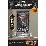 scary halloween decorating ideas Gothic Mansion Long Hallway Scene Setters | Halloween Decorating Kit