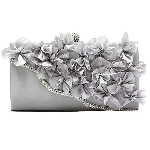 Flowers Borse Cross Poliestere Donna Amethysttote Handbag Large Tote Night Qztg Classic Blu Pinky Argento navy Capacity Body EAqX1wxW6x