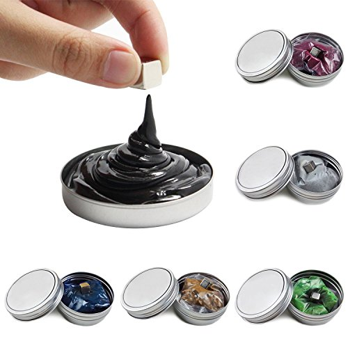 3 Pcs Novelty Magnetic Putty Clay Education Toys Gift for Kids - 3 Color Random