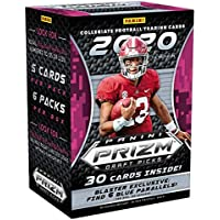 $61 » 2020 Panini Prizm Draft Picks Football NFL Trading Cards Blaster Box- 6 Blaster Exclusive BLUE…
