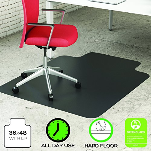 deflecto economat chair mat non studded for hard floors import it all. Black Bedroom Furniture Sets. Home Design Ideas