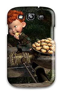 Cute Tpu CaseyKBrown Brave 40 Case Cover For Galaxy S3