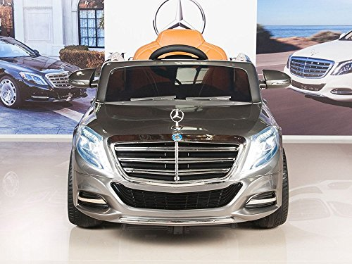 Mercedes benz s600 12v kids ride on battery powered wheels for Mercedes benz service charges