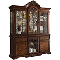 ACME Wycliff Cherry Hutch Buffet