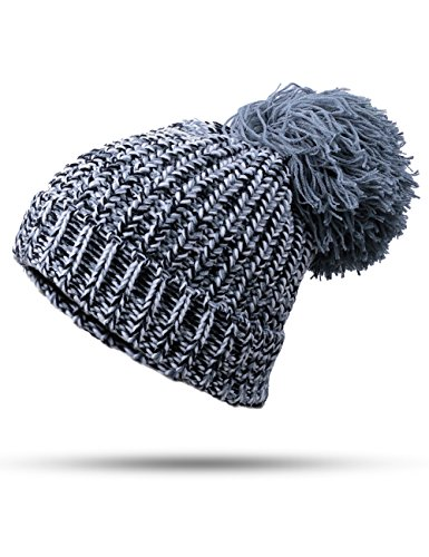 Evrflean Winter slouchy cable knit hat