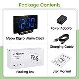 Mpow Digital Alarm Clock, 5'' Curved LED