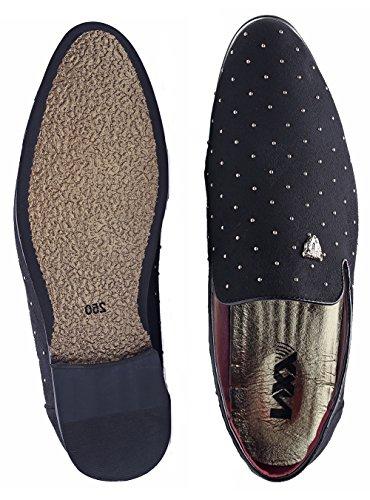 Loafers Metallic Textured NXY Black Shoes Glitter Men's vxywFWSnqZ