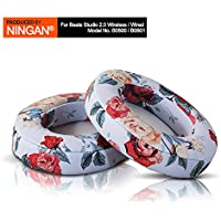 NINGAN Earpad Cushions For Beats By Dr. Dre. Headphones - Replacement Ear Cups Covers For Stuido 2.0 Wired / Wireless B0500 / B0501 Headphones (Floral)