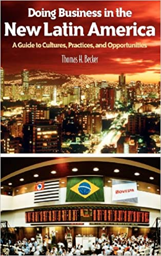 Book cover of Doing Business in the New Latin America