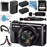 Canon PowerShot G7 X Mark II Digital Camera 1066C001 + NB-13L Lithium Ion Battery + External Rapid Charger + Sony 128GB SDXC Card + Card Wallet + Card Reader + HDMI Cable + Fibercloth + Tripod Bundle Review