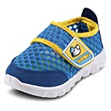 SENFI Kids Lightweight Walking Shoes with Breathable Mesh Upper,TMX01-02blue-26