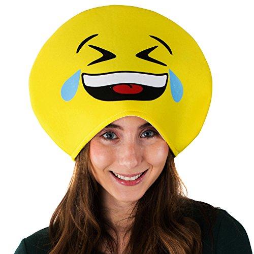 Party Hat Emoji (Tigerdoe Emoticon Hat - Crazy Hats - Costume Accessories - Costume Hats - Dress Up - Party)