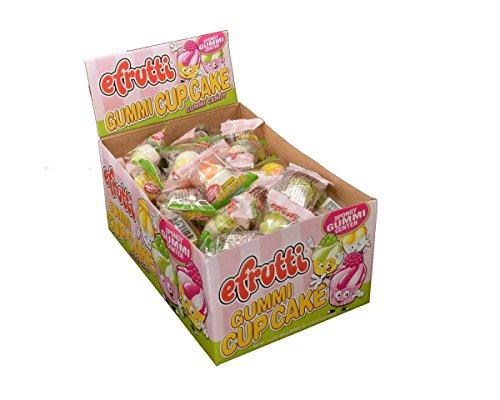 Candy Cupcake - EFrutti Gummi Cupcakes Gummi Candy - 60 / Box