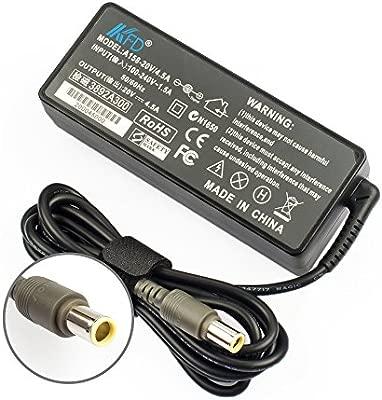 KFD 90W Adaptador Cargador para Lenovo Thinkpad R500 T420 T520 T410 W520 T60 L412 L420 L430 L512 L530 T400 T430 T430s T430u T530 T61 T61p Z60 X120E ...