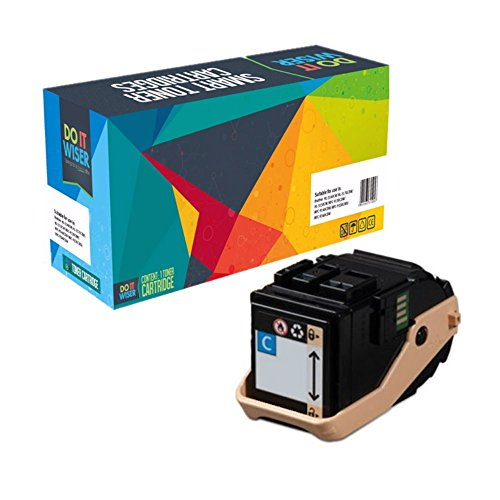 Do it Wiser Compatible Toner Cartridge Replacement for Xerox Phaser 7100 7100N 7100DN Cyan