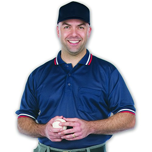 Dalco Athletic Mens Short Sleeve Umpire Shirt XX-Large Navy (Baseball Umpire Shirt)