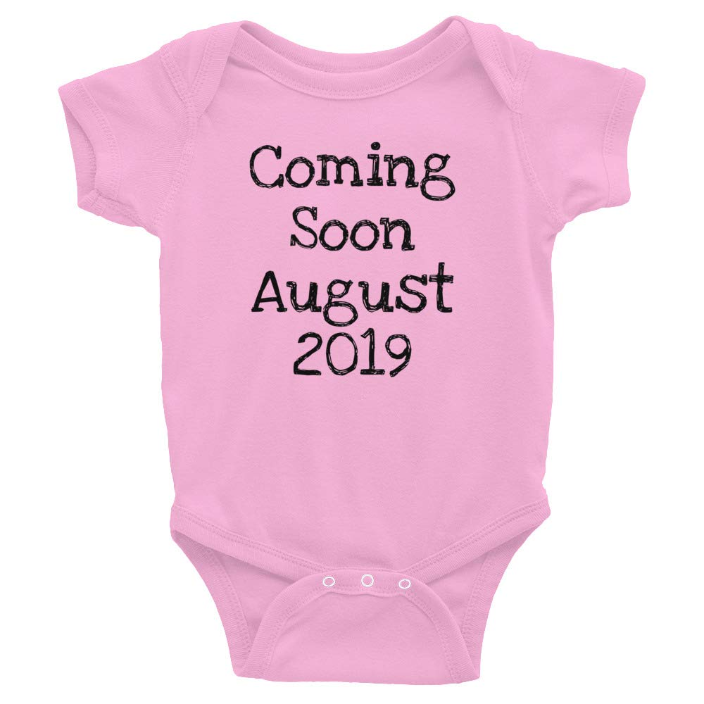 Coming Soon August 2019 Baby On The Way Infant Bodysuit