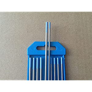10 PCS .040″&1/16″ 7″,Blue WL20, 2% Lanthanated Tungsten & TIG Electrodes (ETA:7-12 WORK DAYS)