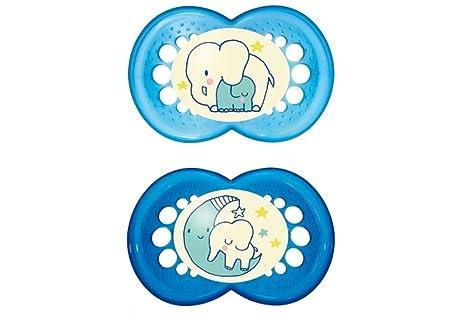 MAM Night - Chupete para niños (6-16 meses, 2 unidades ...