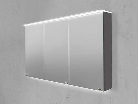 Intar Meuble Miroir Salle De Bain Plaque Lumiere Acrylique Double Face Miroir Led 120 Cm Amazon Fr Cuisine Maison