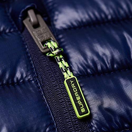 Negro Hombre Storm Superdry Azul Hybrid Jacket wIBdnx70q