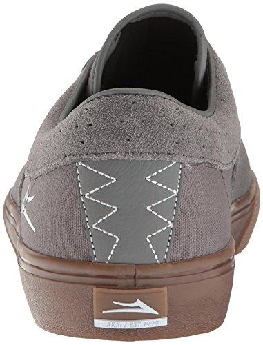 Zapatillas Lakai: Riley Hawk Grey Suede GR