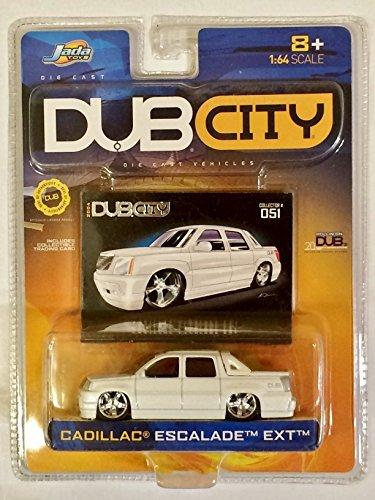 Amazon.com: Jada Toys - Dub City, Cadillac Escalade EXT - White ...